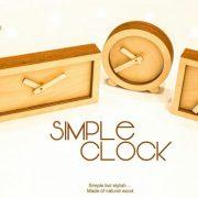 ساعت رو میزی سیمپل