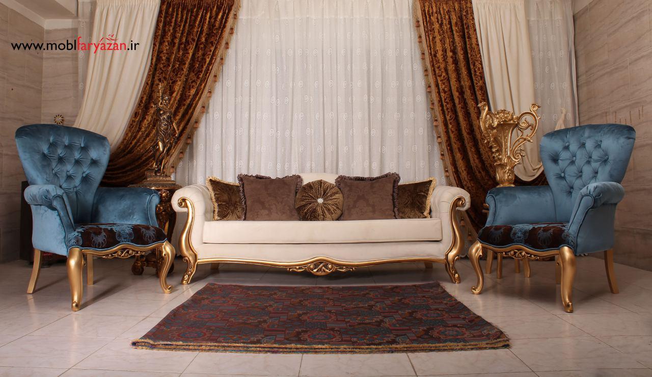 مبل کلاسیک مدرن گاردنیا