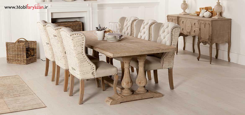 میز ناهار خوری وینتیج
