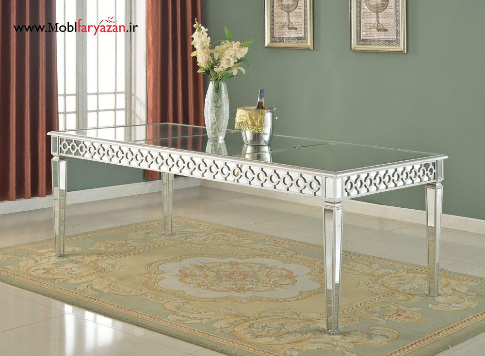 میز ناهار خوری آینه ای